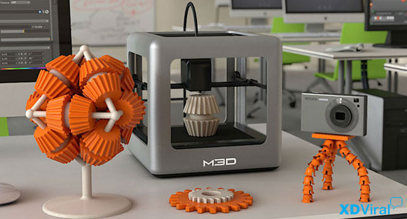 5 Benefits of 3D Printer