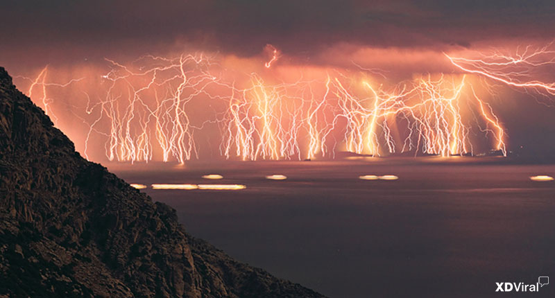 8 Pictures of skies you've ever seen, the # 2 and # 5, stunning