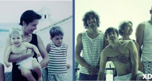 15 fun before-after family photos