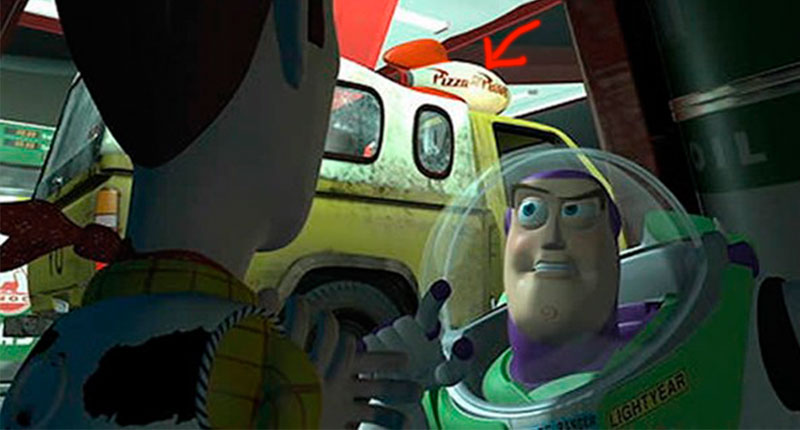 11 Pizza Planet Van appears in Pixar Films