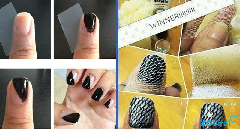 9 easy tricks to paint your nails