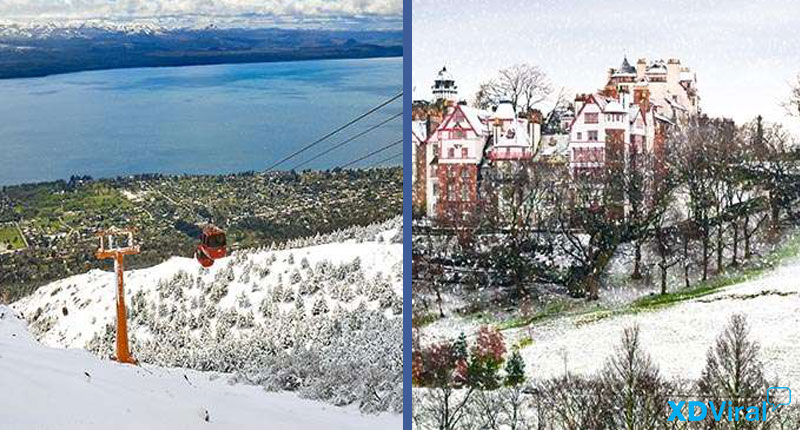 15 beautiful cities when it snows