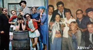 "Before – After the characters ""Chavo del 8"""