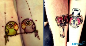 9 beautiful tattoos for lovers