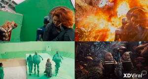 17 movies with special effects Before-After